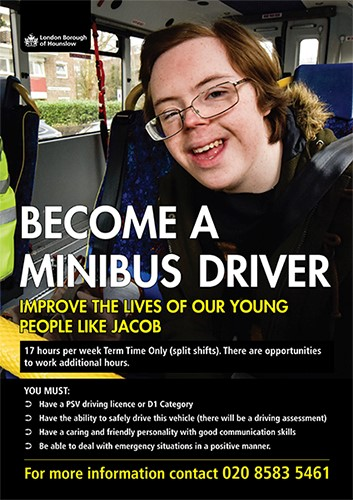 Mini Bus Driver advert image