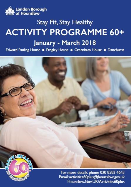 Over 60s Activities Brochure image
