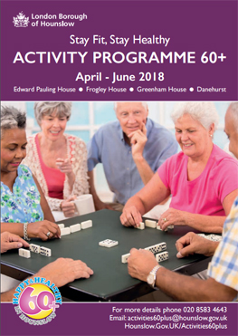 Over 60s Activities Brochure image