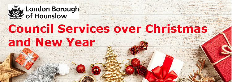 Council services over Christmas