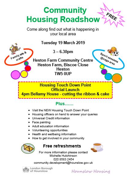 Heston Community Event Image