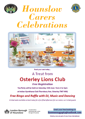 Osterley Lions Carers Tea image