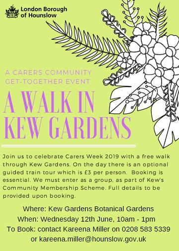 A Walk in Kew Gardens
