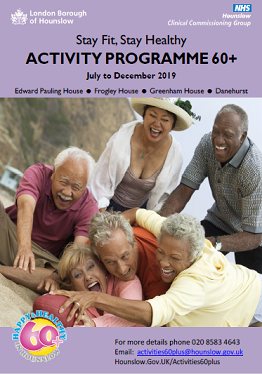 New 60+ Activities guide October to December 2018