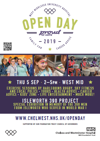West Mid Open Day Poster Image