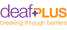 Service logo for deafPLUS